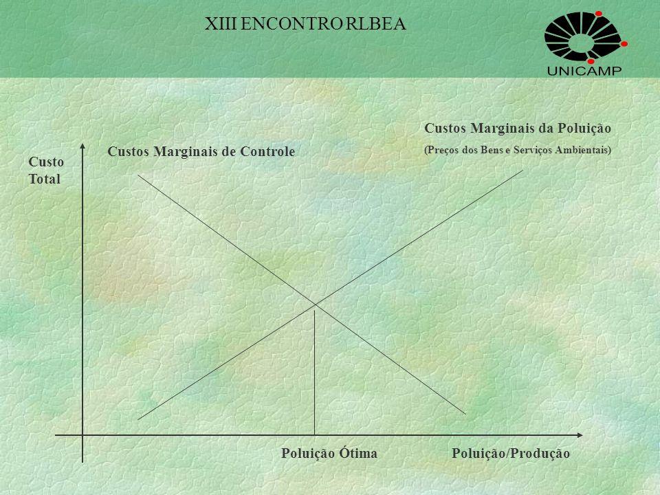 Taxação Pigouviana Avaliação dos impactos ambientais de modo a estabelecer uma curva de custos marginais da poluição a serem impostos ao agente poluid