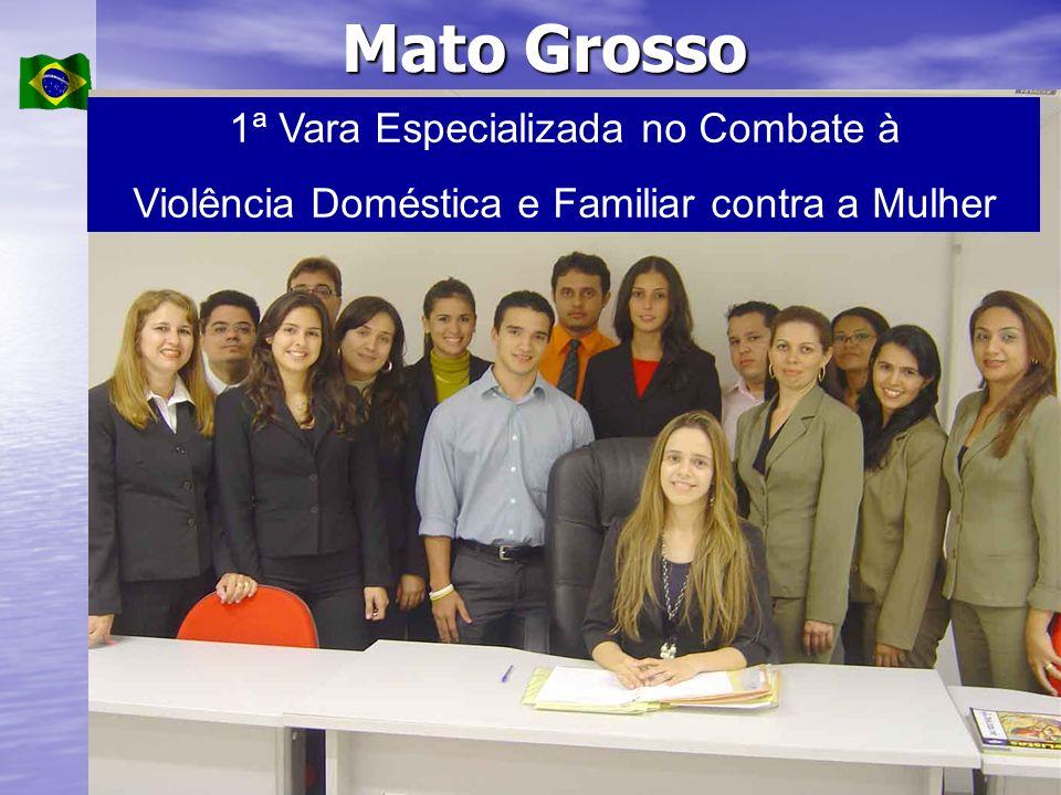 Mato Grosso 1ª Vara Especializada no Combate à Violência Doméstica e Familiar contra a Mulher