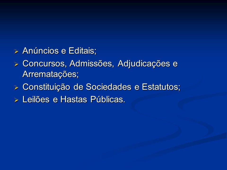 Anúncios e Editais; Anúncios e Editais; Concursos, Admissões, Adjudicações e Arrematações; Concursos, Admissões, Adjudicações e Arrematações; Constitu