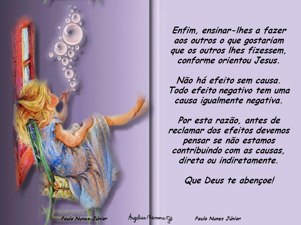 Paulo Nunes Júnior Ensinar aos meninos que as irmãs dos outros devem ser respeitadas tanto quando suas próprias irmãs. Que a palavra sempre deve ser h