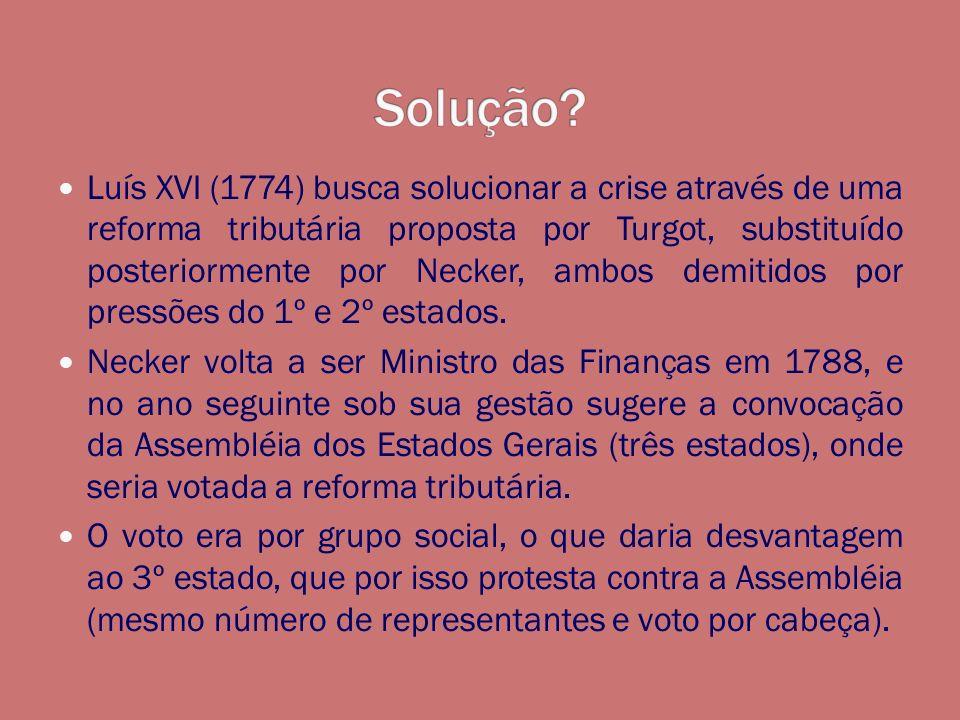 Os representantes do 3º estado se declaram em Assembléia Nacional, onde poderiam fiscalizar (poderes e impostos).