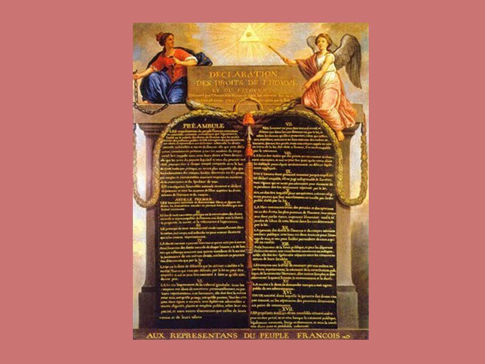 A Declaração do Homem e do Cidadão Art.1.º Os homens nascem e são livres e iguais em direitos.