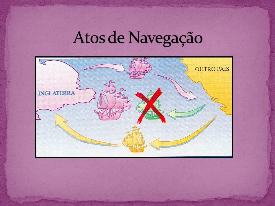 Guerra contra a Holanda (1652 – 1654): vitória da Inglaterra (supremacia naval).
