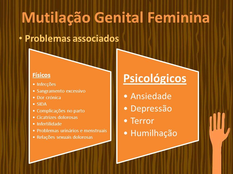 Mutilação Genital Feminina Países onde ocorre
