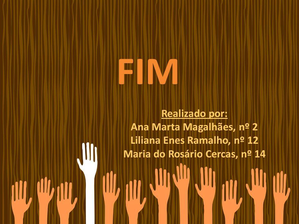 FIM Realizado por: Ana Marta Magalhães, nº 2 Liliana Enes Ramalho, nº 12 Maria do Rosário Cercas, nº 14