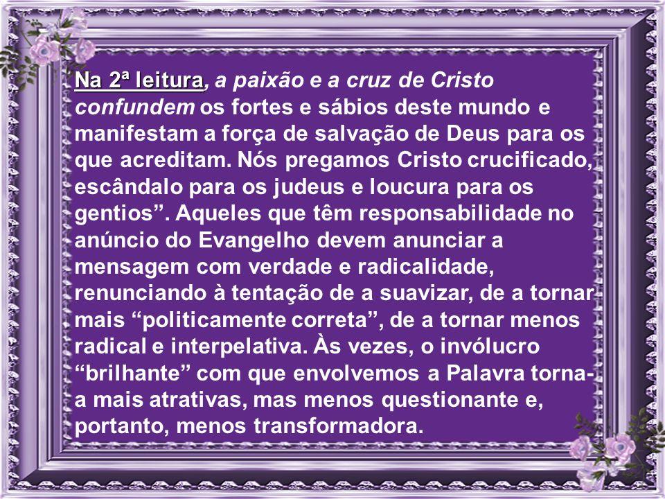 salmo) ( salmo) A fidelidade assegura a relação amorosa com o Deus libertador da escravidão do Egito. Os ensinamentos do Senhor contêm a força para il