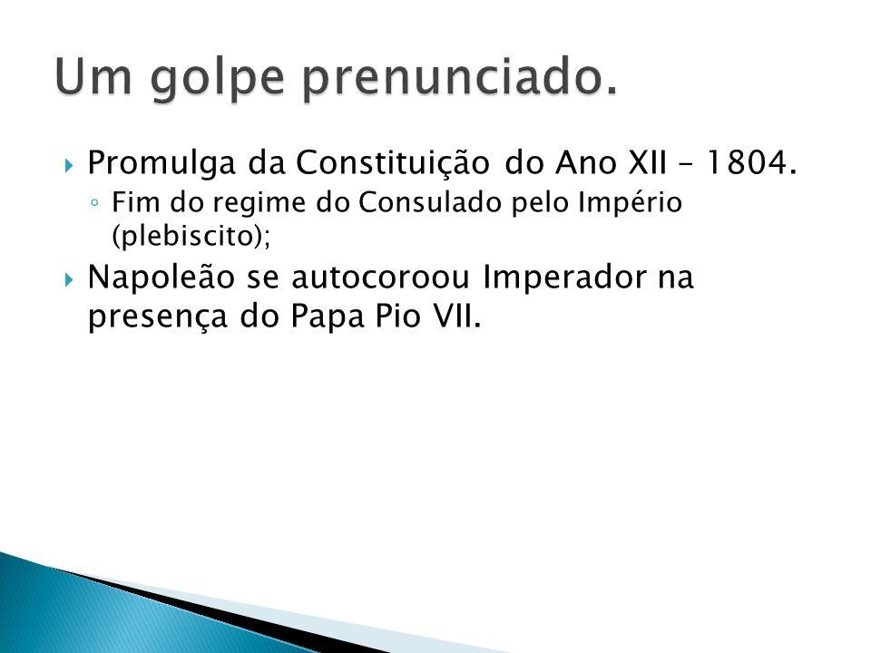 Promulga da Constituição do Ano XII – 1804.