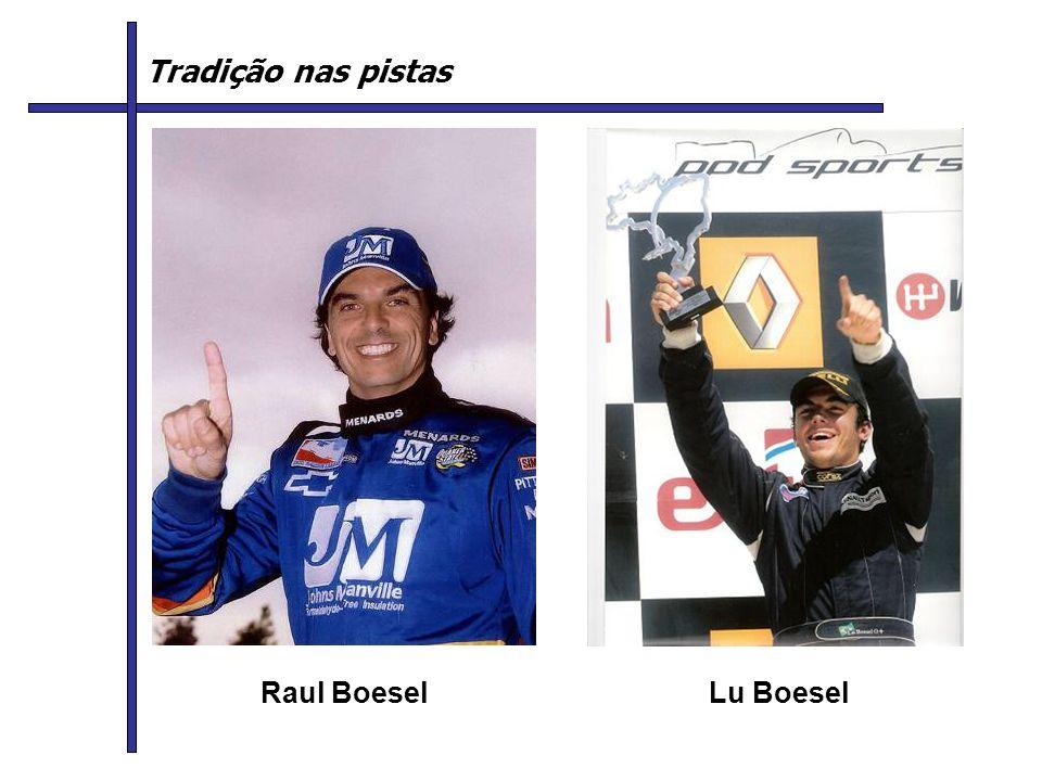 Raul BoeselLu Boesel Tradição nas pistas