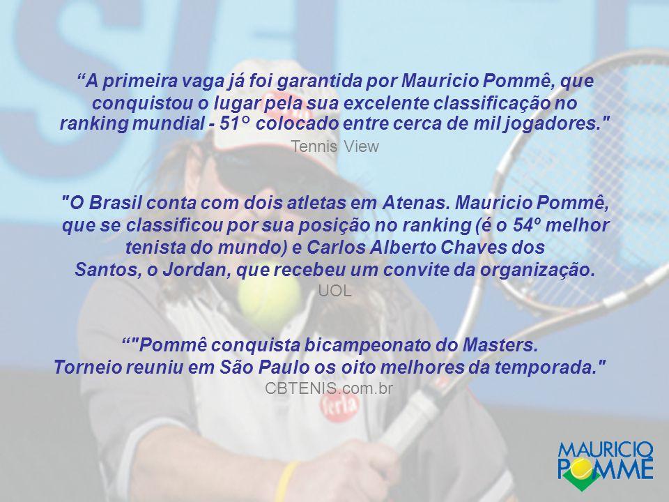 O Brasil conta com dois atletas em Atenas.