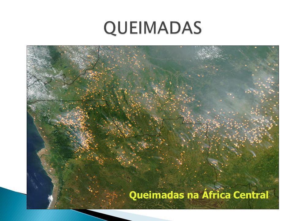 Queimadas na África Central