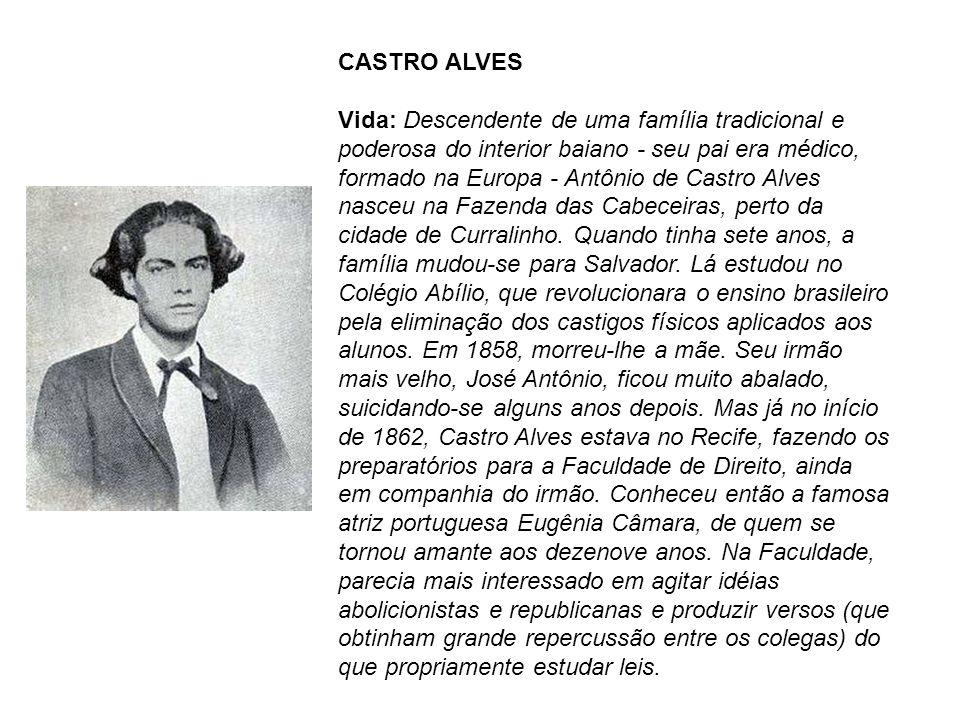 Após concluir um drama em prosa, Gonzaga, especialmente composto para Eugênia Câmara, seguiu com a atriz rumo a Salvador.