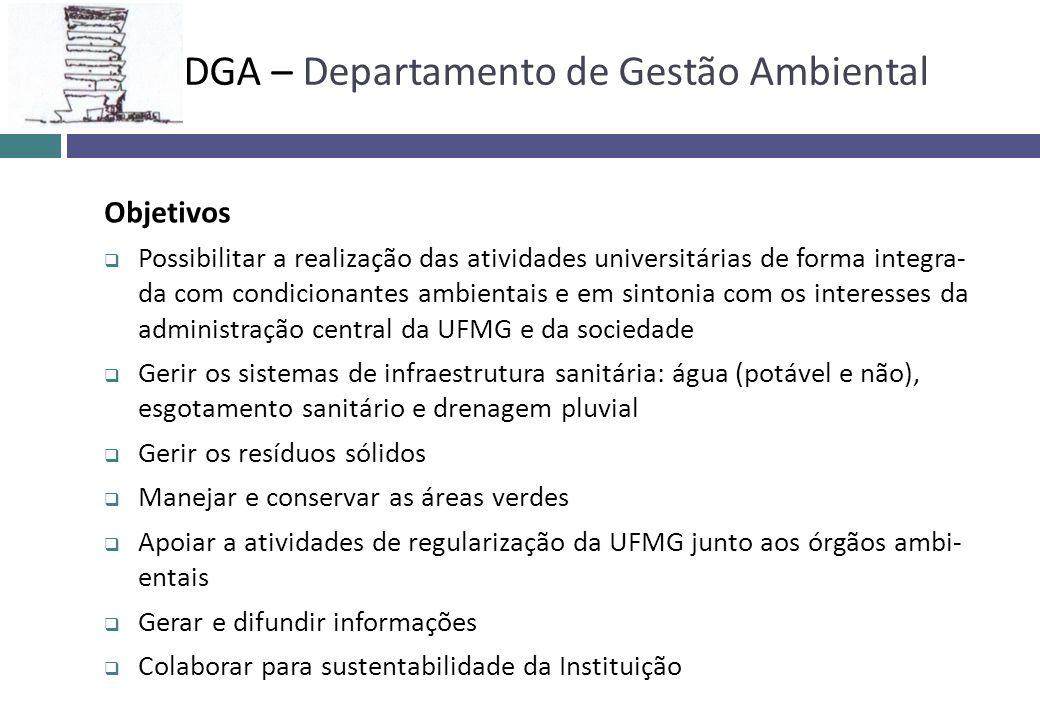 Objetivos Possibilitar a realização das atividades universitárias de forma integra- da com condicionantes ambientais e em sintonia com os interesses d