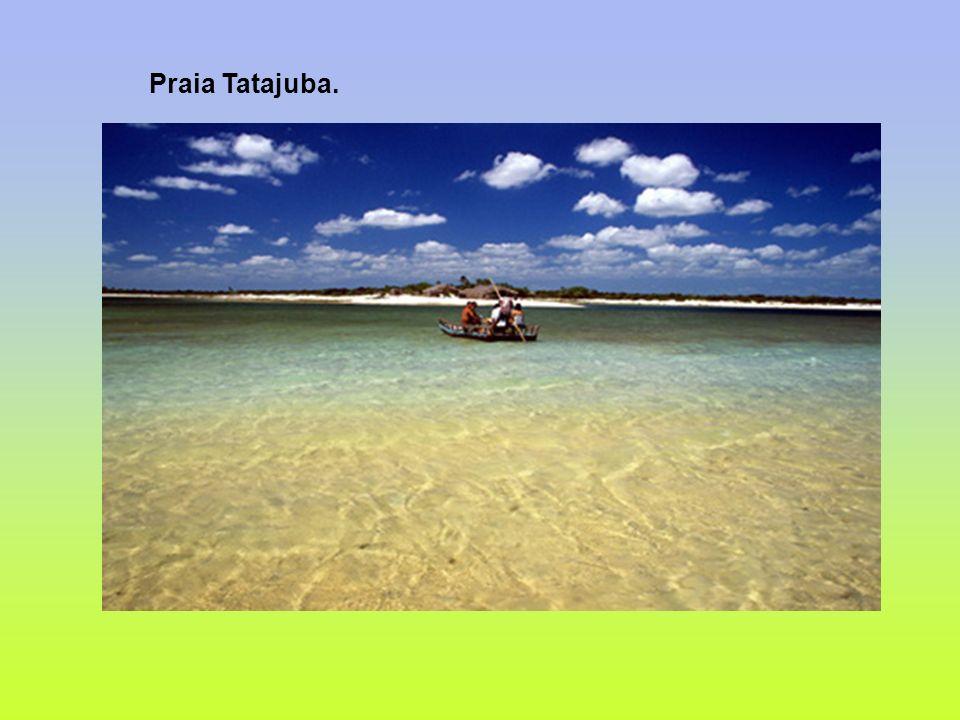 Praia Tatajuba.