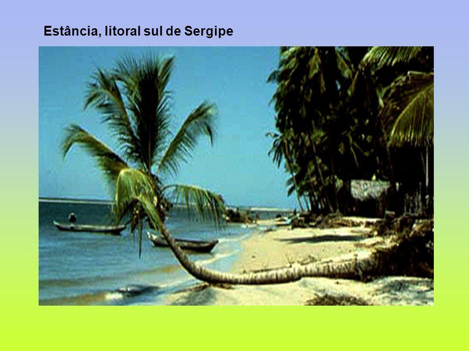 Estância, litoral sul de Sergipe
