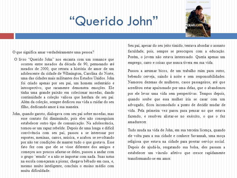 O que significa amar verdadeiramente uma pessoa? O livro Querido John nos encanta com um romance que ocorreu entre meados da década de 90, permeando a