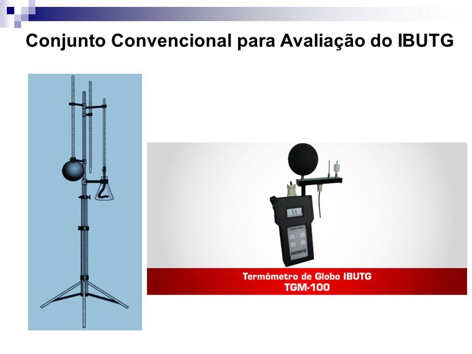 Conjunto Convencional para Avaliação do IBUTG