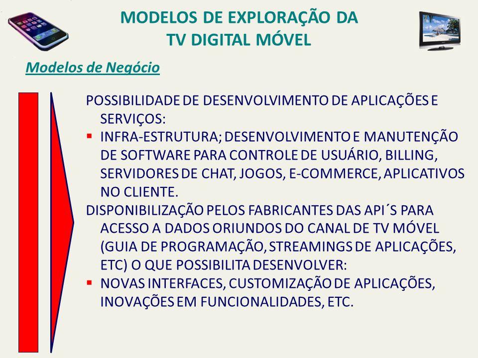 POSSIBILIDADE DE DESENVOLVIMENTO DE APLICAÇÕES E SERVIÇOS: INFRA-ESTRUTURA; DESENVOLVIMENTO E MANUTENÇÃO DE SOFTWARE PARA CONTROLE DE USUÁRIO, BILLING, SERVIDORES DE CHAT, JOGOS, E-COMMERCE, APLICATIVOS NO CLIENTE.