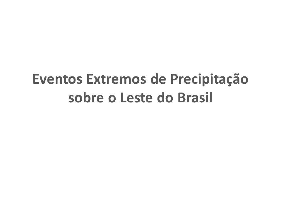 Introdução Devido à topografia acentuada perto da costa leste do Brasil, chuvas fortes podem resultar em inundações catastróficas, com perda de vida, propriedade e infra- estrutura.