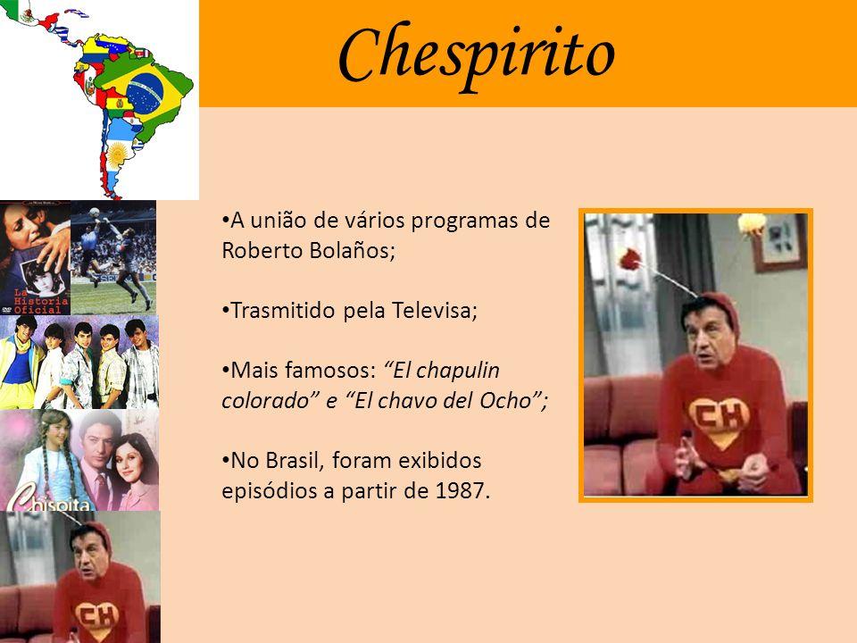 Chispita Telenovela Infantil; Transmitida pela Televisa entre 1983 e 1984; Narra a história da órfã Lúcia (Chispita), que mora em um orfanato de freir