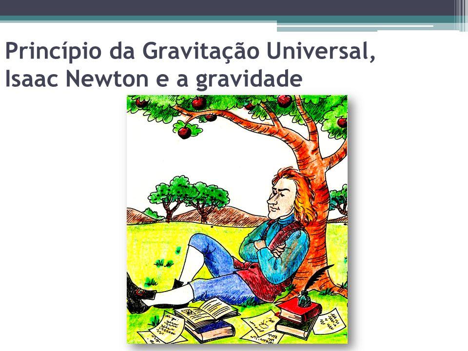 Princípio da Gravitação Universal, Isaac Newton e a gravidade