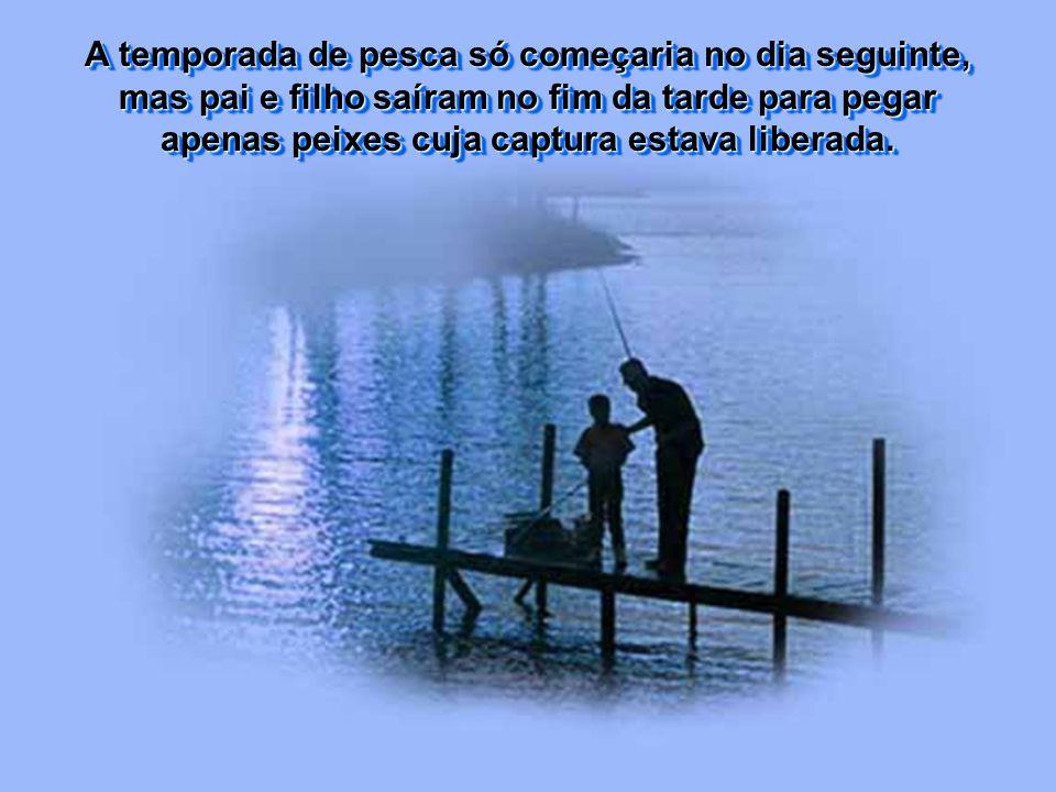 Ele tinha onze anos e, a cada oportunidade que surgia, ia pescar no cais próximo ao chalé da família, numa ilha que ficava em meio a um lago.