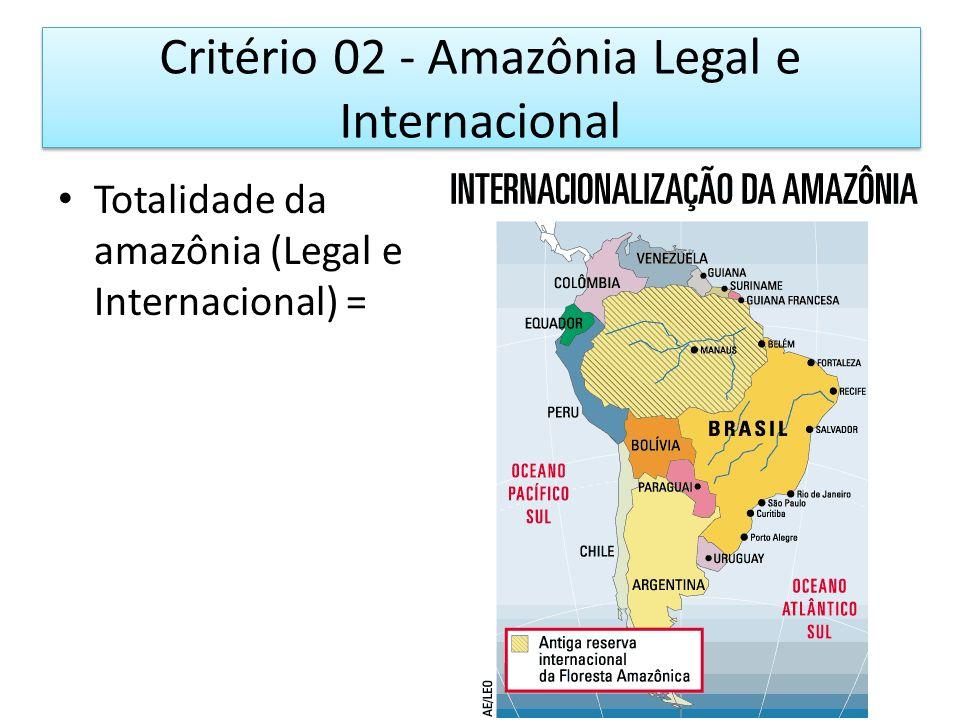Amazônia Legal (crit 02 ainda)