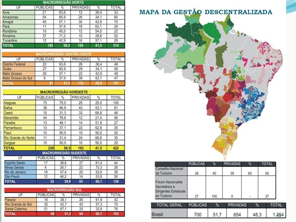 MAPA DA GESTÃO DESCENTRALIZADA 45