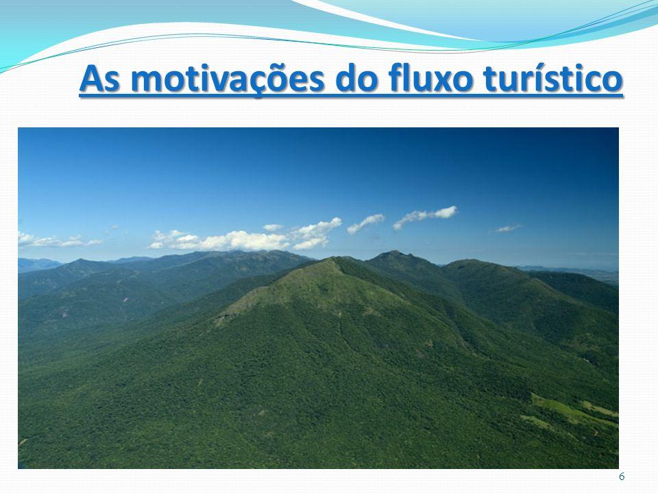 As motivações do fluxo turístico 6