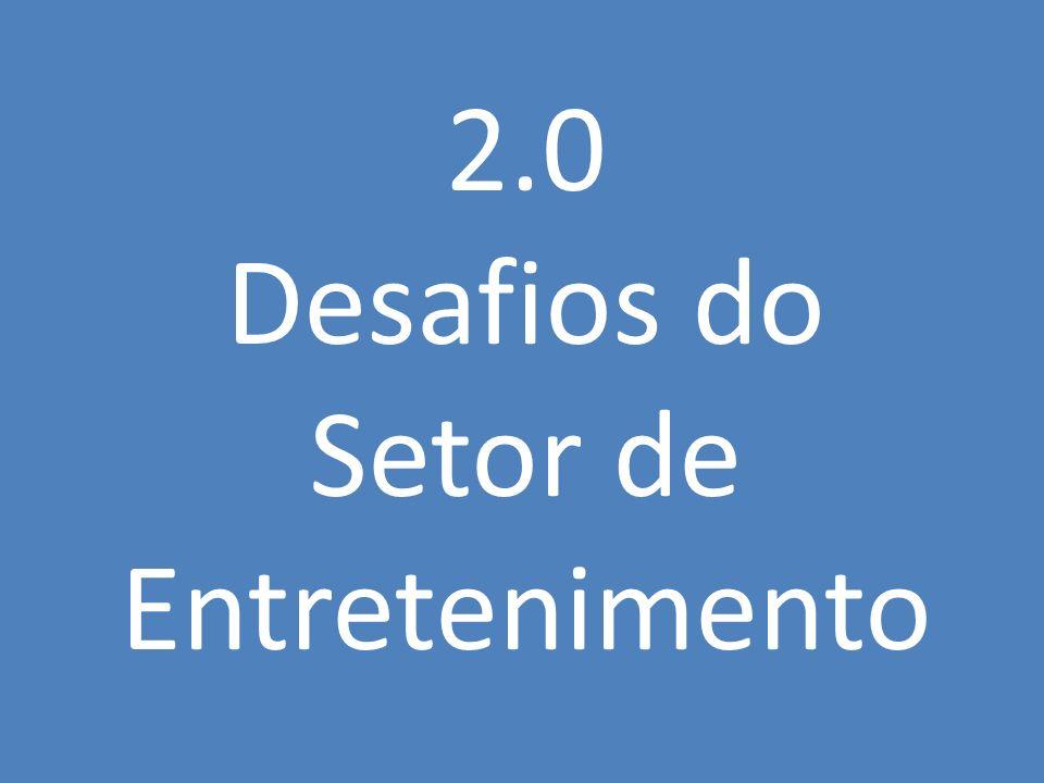 2.0 Desafios do Setor de Entretenimento