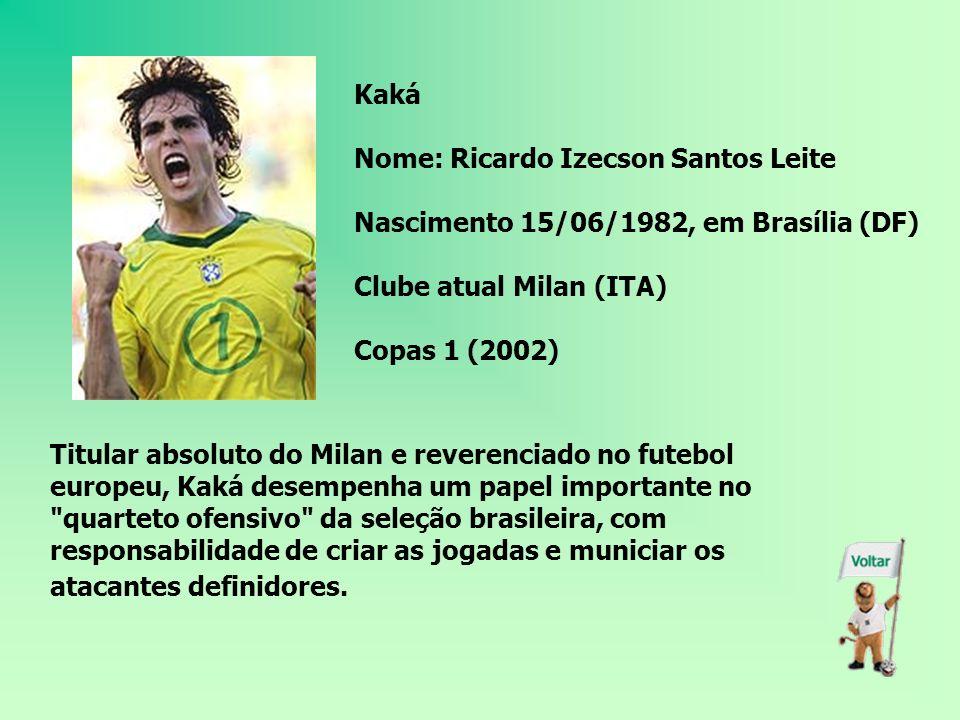 Adriano Nome: Adriano Leite Ribeiro Nascimento: 17/02/1982, no Rio de Janeiro (RJ) Clube atual: Inter de Milão (ITA) Copas: nenhuma Hoje, Adriano é o