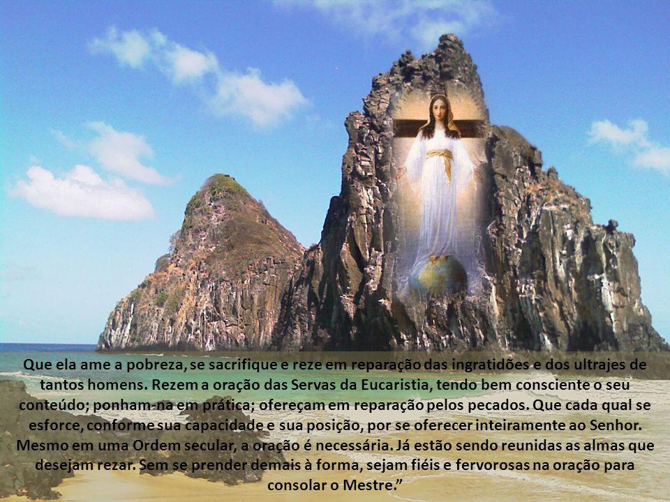 Para que o mundo conheça Sua indignação, o Pai Celeste se presta a infligir um grande castigo à humanidade inteira. Com meu Filho, tenho-me interposto