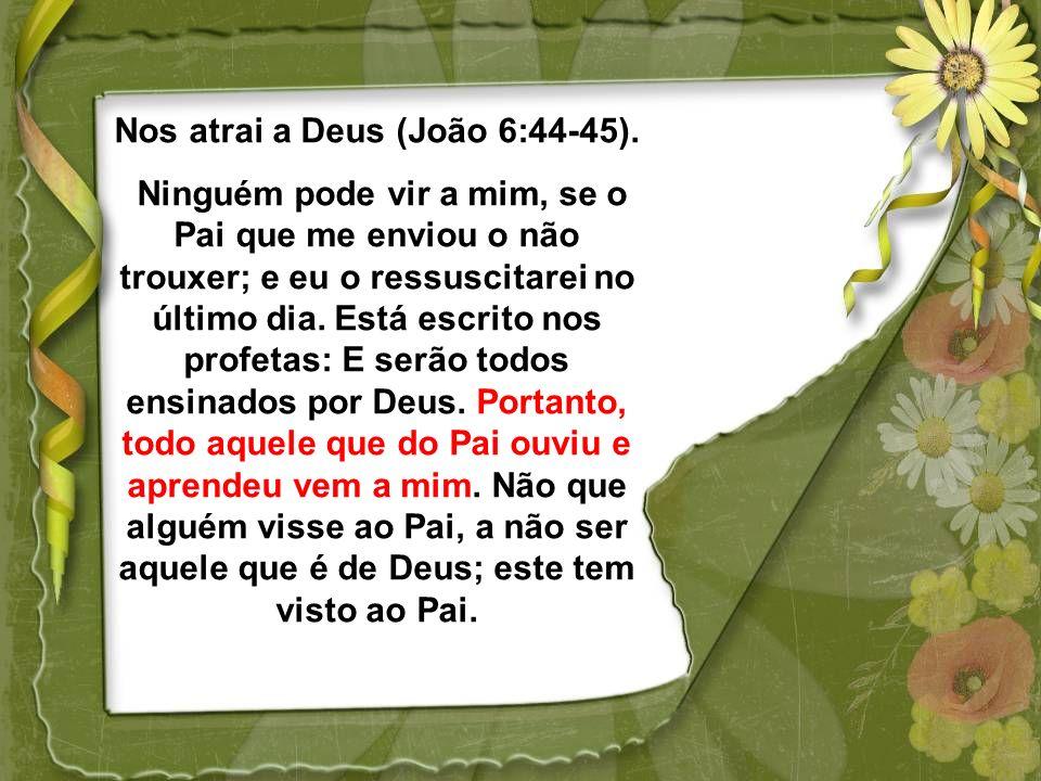 Liberta (João 8:32) E conhecereis a verdade, e a verdade vos libertará. Produz fé (Romanos 10:17) De sorte que a fé é pelo ouvir, e o ouvir pela palav