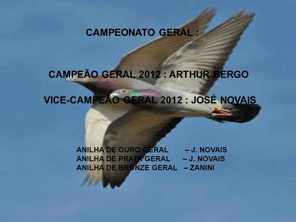 AGRADECIMENTOS: Agradecemos a todos aqueles que contribuíram para a realização da temporada de 2012, em especial, os clubes parceiros de temporada, representados pelos: René C.