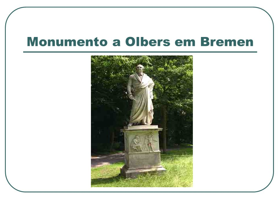 Monumento a Olbers em Bremen