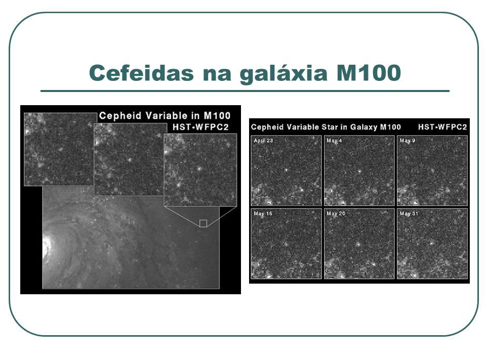 Cefeidas na galáxia M100