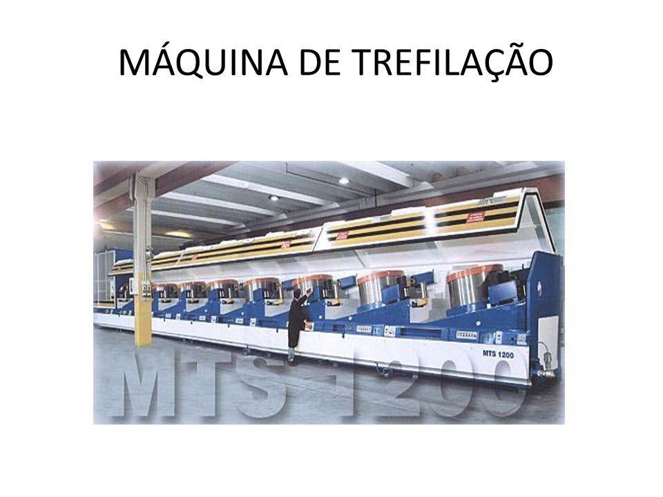 MÁQUINA DE TREFILAÇÃO