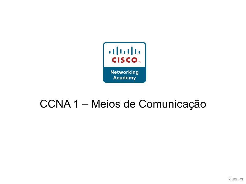 Kraemer CCNA 1 – Meios de Comunicação