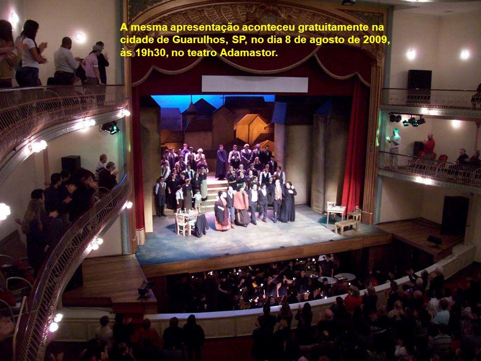 Qualquer outra palavra seria injusta para transparecer a atenção e a estrutura oferecida aos deficientes visuais que assistiram a ópera Cavalleria Rus
