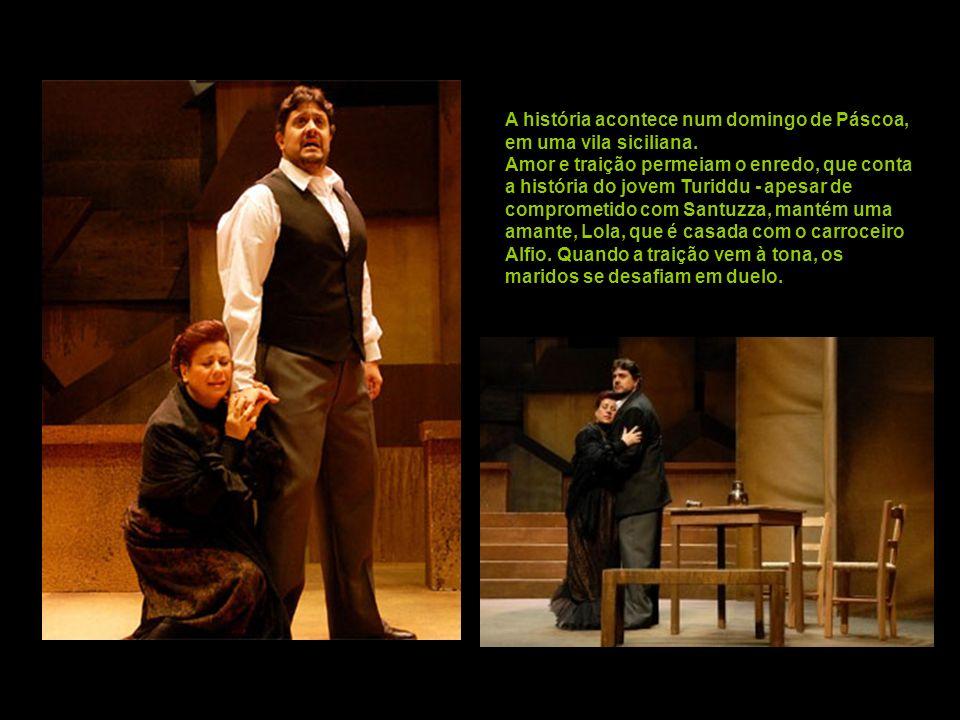 Um dos mais importantes compositores italianos do final do século 19, Mascagni criou a ópera em 1890. A obra é inspirada no conto homônimo do escritor