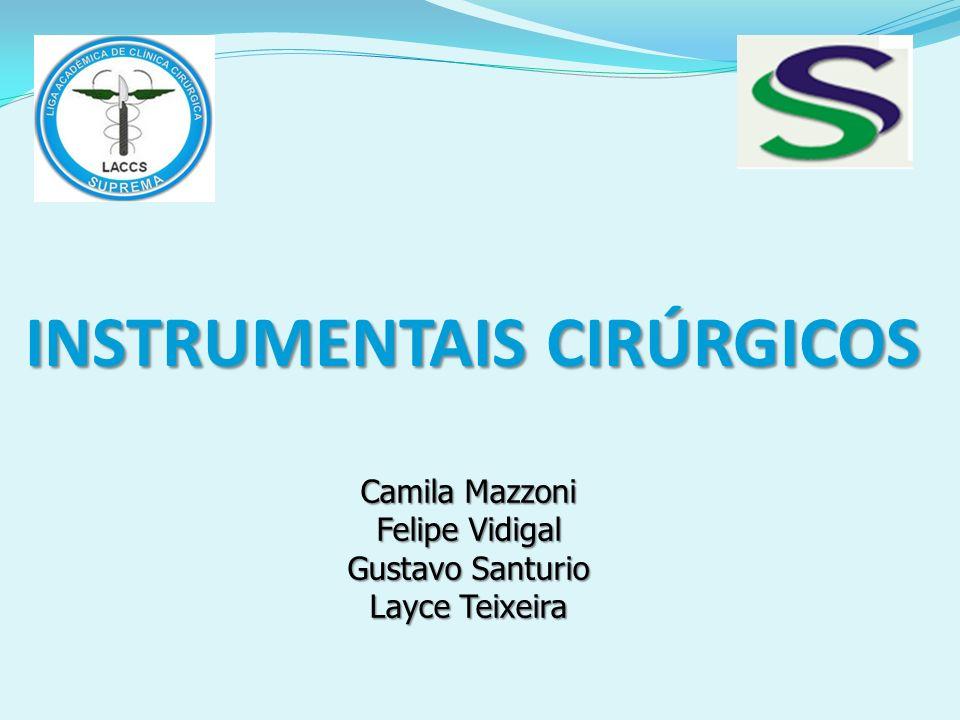 INSTRUMENTAIS CIRÚRGICOS Camila Mazzoni Felipe Vidigal Gustavo Santurio Layce Teixeira