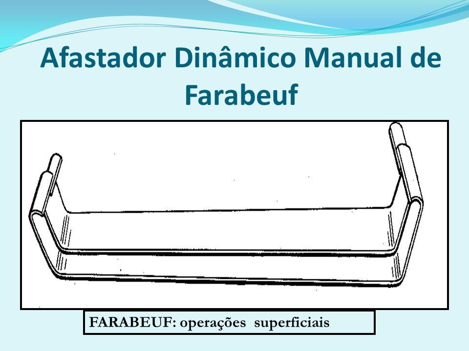 Afastador Dinâmico Manual de Farabeuf FARABEUF: operações superficiais