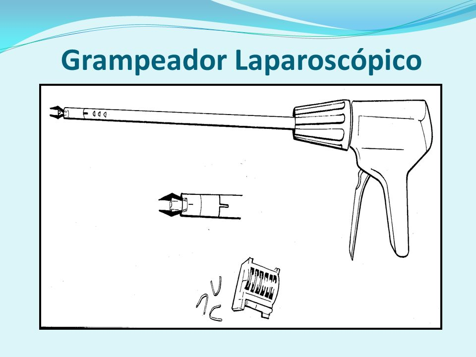 Grampeador Laparoscópico