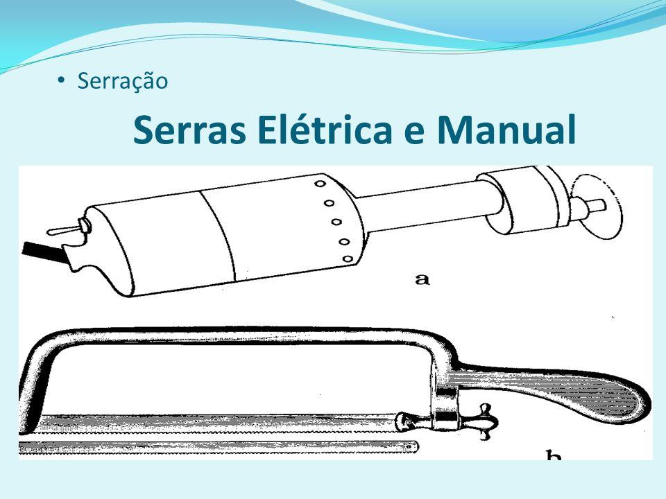 Serras Elétrica e Manual Serração