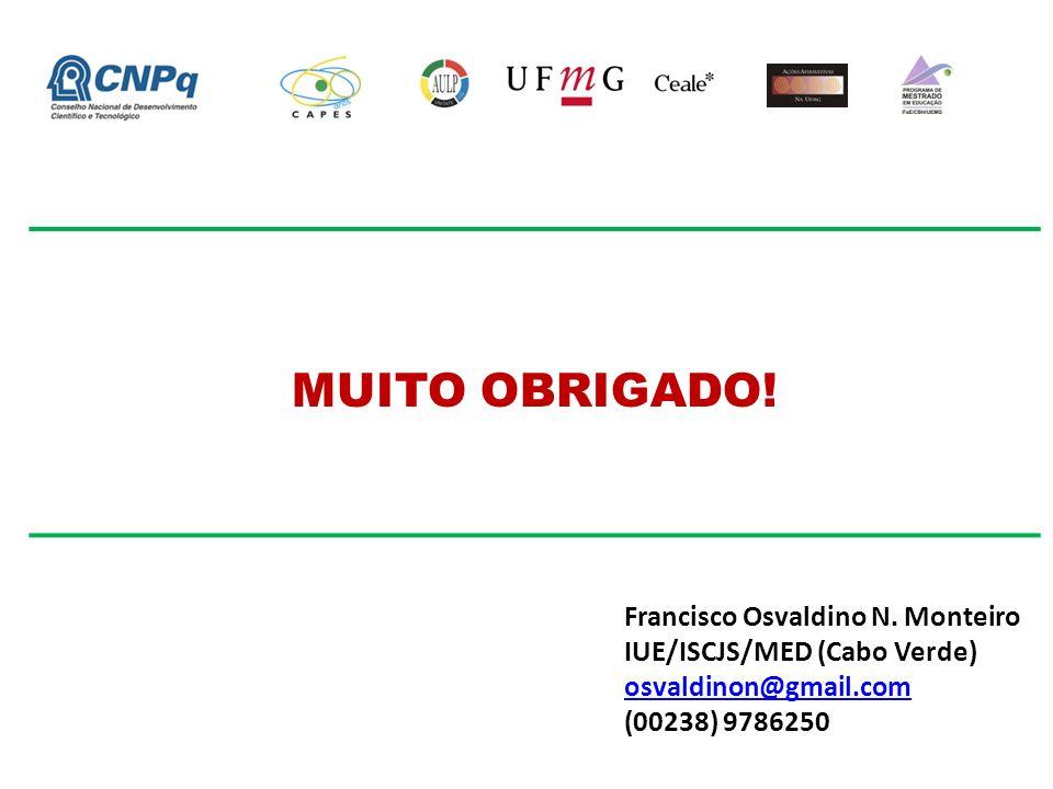 MUITO OBRIGADO.Francisco Osvaldino N.