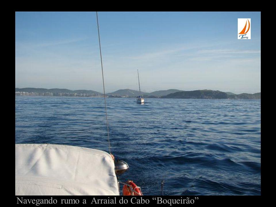 Navegando rumo a Arraial do Cabo Boqueirão