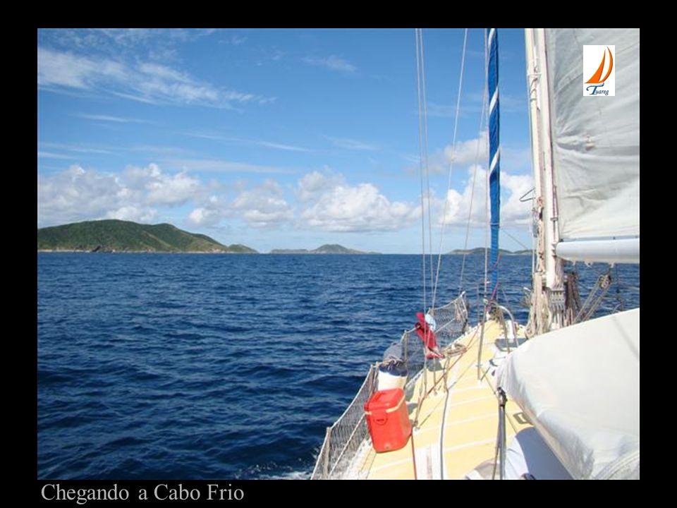 Chegando a Cabo Frio