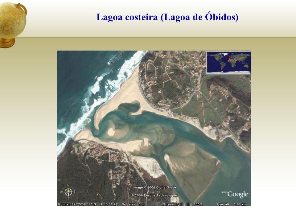 Lagoa costeira (Lagoa de Óbidos)