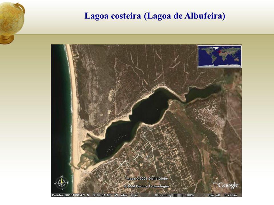 Lagoa costeira (Lagoa de Albufeira)