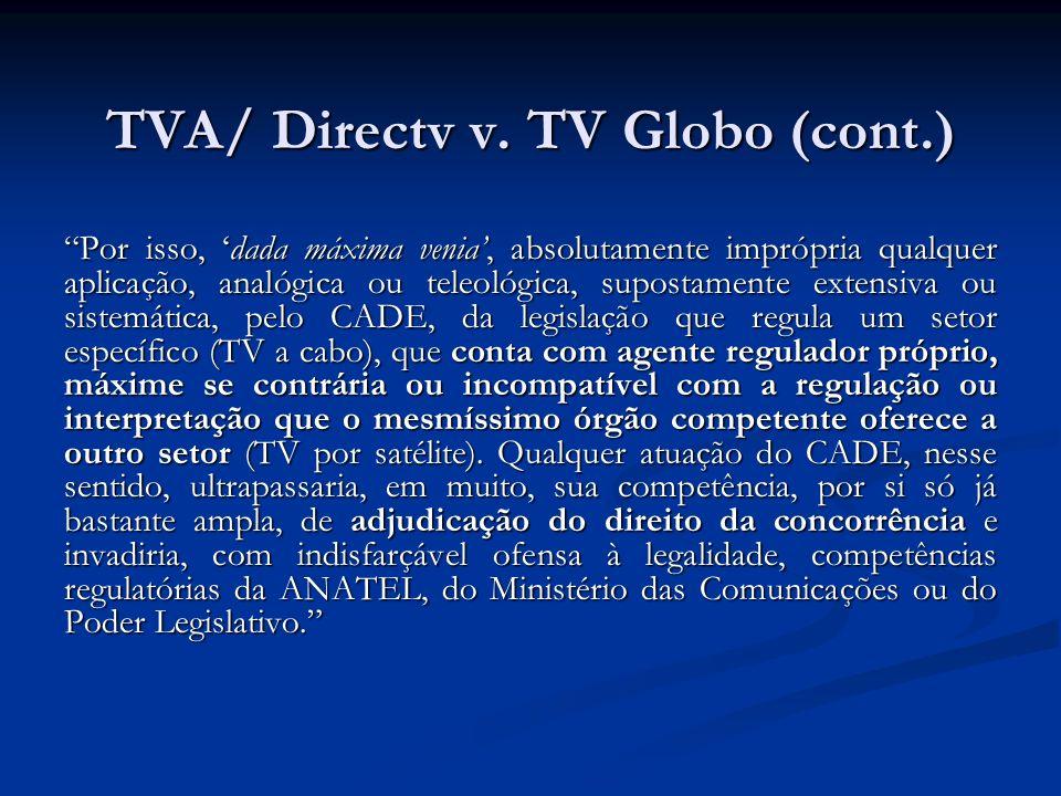 TVA/ Directv v.