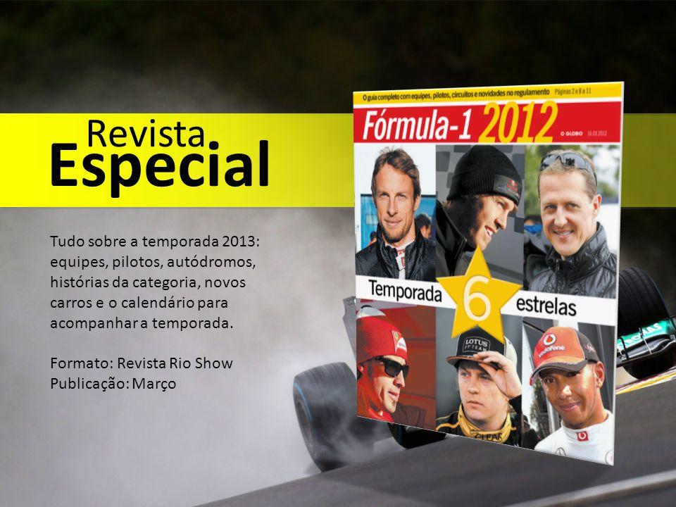 Tudo sobre a temporada 2013: equipes, pilotos, autódromos, histórias da categoria, novos carros e o calendário para acompanhar a temporada. Formato: R
